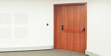 Productos Aldel- Puertas acústicas.