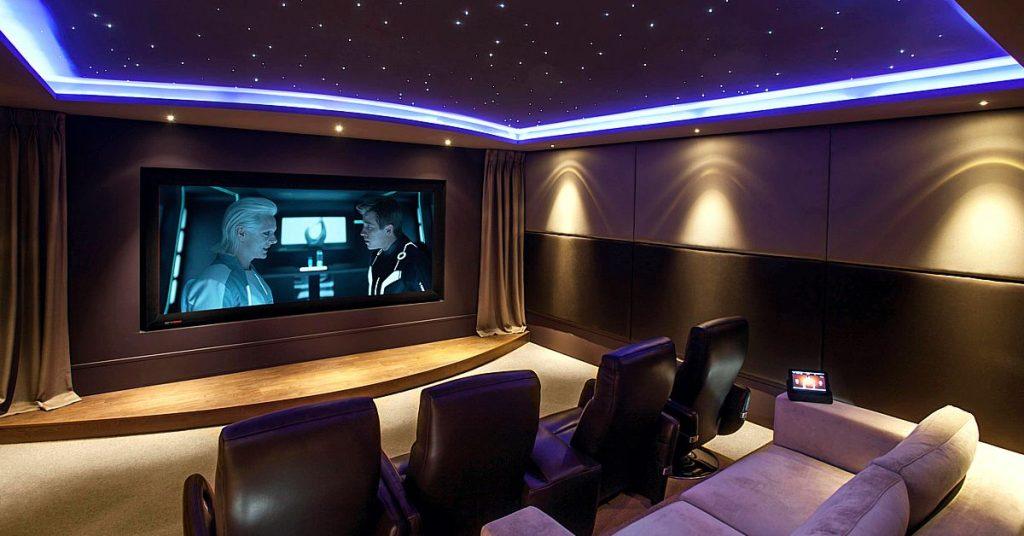La mejor ac stica del ambiente para tu cine en casa - Sala de cine en casa ...